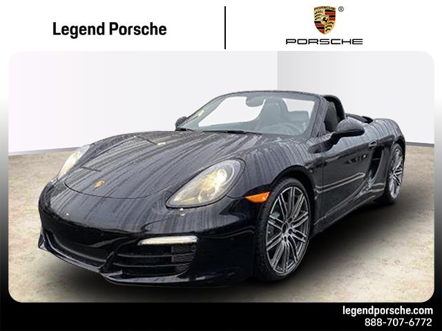 Pre-Owned 2016 Porsche 718 Boxster S Black Edition